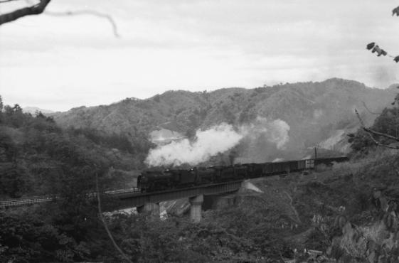 鉄道写真:東北本線/奥中山 D51...